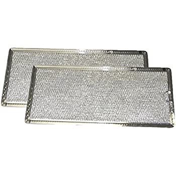 Marvelous Grease Filter For GE Microwave Range Hood WB06X10596, 2 Filters
