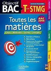Objectif Bac - Toutes les matières Terminale STMG