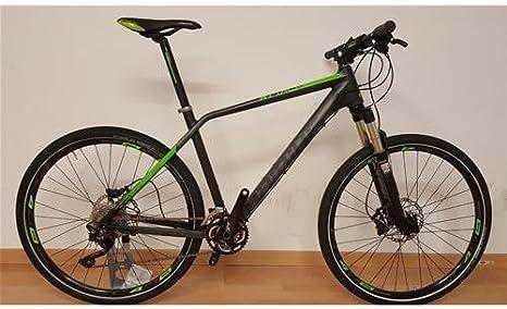 Bicicleta MTB 27.5 Haibike Attack Talla 19 gris verde usada: Amazon.es: Deportes y aire libre