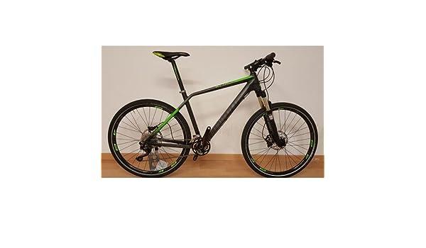 Bicicleta MTB 27.5 Haibike Attack Talla 19 gris verde usada ...