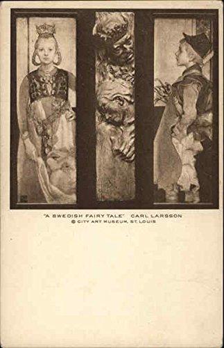 A Swedish Fairy Tale, Carl Larsson Art Original Vintage Postcard