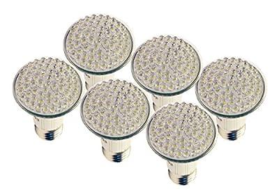 MiracleLED 604882 Home Beautiful 4W Flood LED Bulbs (6 Pack), Soft White