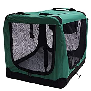 LF stores Transportín para Mascotas Perro Perro Jaula Perro Grande ...