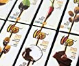 Theo Organic Fair Trade Dark Chocolate Variety Pack, Vegan, 12 Count - 3-ounce Bars