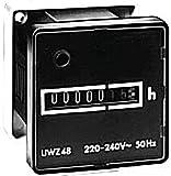 Grasslin by Intermatic UWZ48-24U Screw Terminals, 24v, 60hz Ac Hour Meters Surface Mount