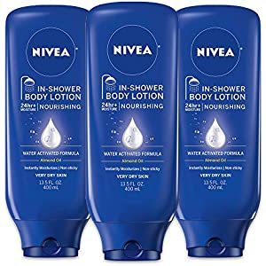 NIVEA In-Shower Nourishing Body Lotion 13.5 Fluid Ounce