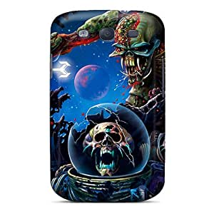NataliaKrause Samsung Galaxy S3 Bumper Cell-phone Hard Cover Allow Personal Design Lifelike Iron Maiden Skin [xXS749wQos]