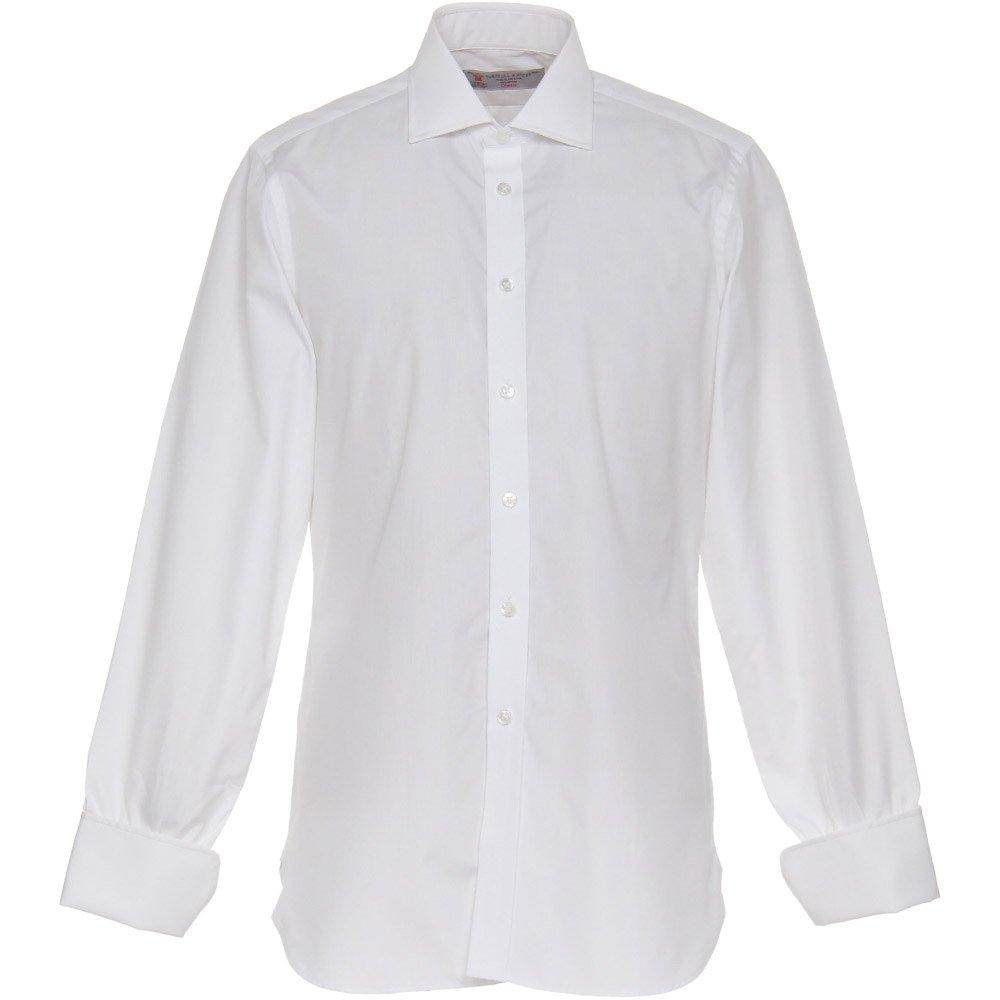 ターンブル&アッサー(Turnbull&Asser) 007 ドクターノーシャツ 日本仕様 【正規販売店】 B01HFWU0WS 16|ホワイト ホワイト 16