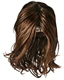 Hairdo Love Love Love Collection Long Full Length Straight Hair with Soft Natural Wave Highlights, SS4/6 Espresso