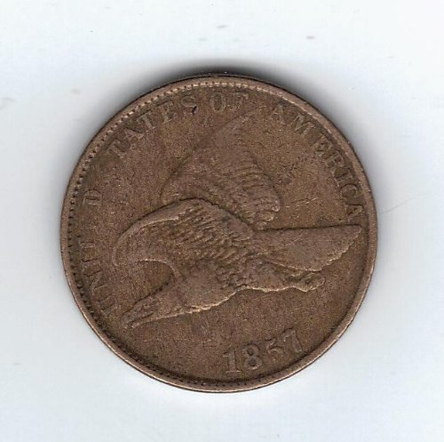 - 1857 Flying Eagle Cent