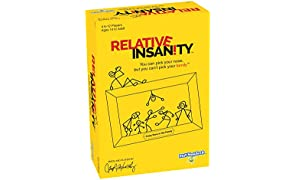 PlayMonster Relative Insanity Party Game About Crazy Relatives--Made and Played by Comedian Jeff Foxworthy
