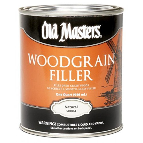 Old Masters Woodgrain Filler Natural Tone Quart Fills Open-Grain Woods