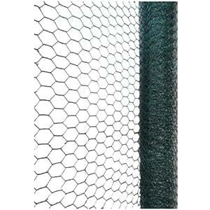 Green Blade BB-CW115 10 x 0,9 m Cubierto de PVC Galvanizado tela metálica con 13mm Rejilla