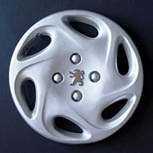Wheeltrims Set de 4 embellecedores Peugeot 206/106 / 306/406 / 806 / Ranch/Bipper con Llantas Originales de 13''