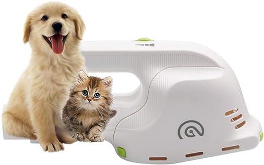 Cepillo de aseo eléctrico para mascotas con aspiradora, peine profesional de descamación totalmente automático para todas las razas de perros y gatos con pelos y pelos cortos, medianos, largos y dobles: Amazon.es: