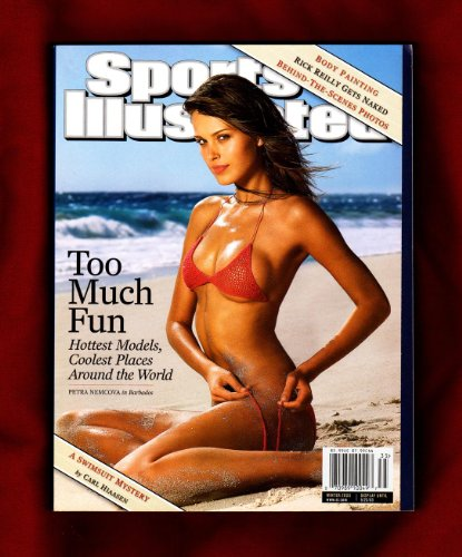 Sports Illustrated 2003 Swimsuit Issue: Too Much Fun / Hottest Models, Coolest Places Around the World. Double Issue. Petra Nemcova, May Andersen, Reka Ebergenyi, Bridget Hall, Marisa Miller, Sarah O'Hare, Ana Beatriz Barros, Isabeli Fontana, Michelle Alves, Yamila Diaz-Rahi, Fernanda Tavares, Ekaterina Gordeeva, Marissa Miller, Daniela Pestiva, Jessica White, Audrey Quock, Rachel Hunter, Molly Sims