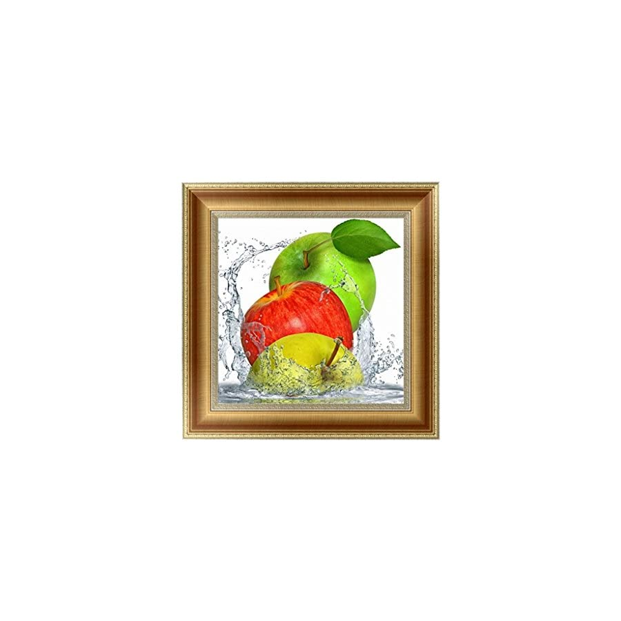 SCASTOE DIY 5D Apple Diamond Embroidery Painting Cross Stitch Craft Home Decor