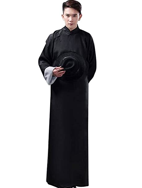 bas prix 7740d 2e723 springcos Chinese Costumes Men Robe Long Gown