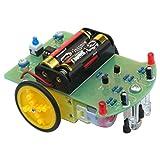 motor car kit - Tracking Robot Car Electronic DIY Kit With Gear Motor