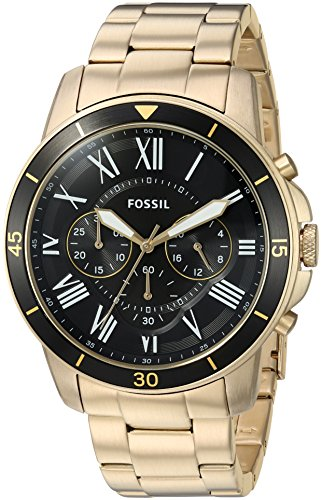 Fossil-Mens-FS5267-Grant-Sport-Chronograph-Gold-Tone-Stainless-Steel-Watch