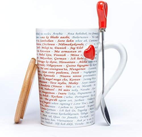 MACHUMA Coffee Spoon Languages Drinks product image