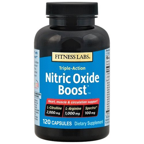 Fitness Labs Nitric Oxide Boost™, with L-Citrulline, L-Arginine and Spectra™, 30 Servings, 120 Capsules (Oxide Activator Nitric)