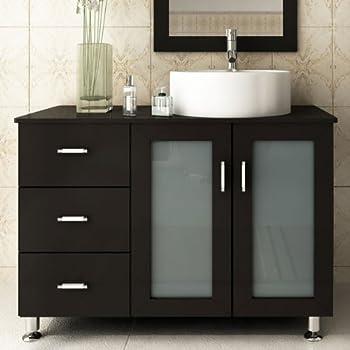 This item JWH Living Lune 39 in  Single Bathroom Vanity. Amazon com  JWH Living Lune 39 in  Single Bathroom Vanity  Home