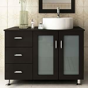 39 Lune Small Single Sink Modern Bathroom Vanity