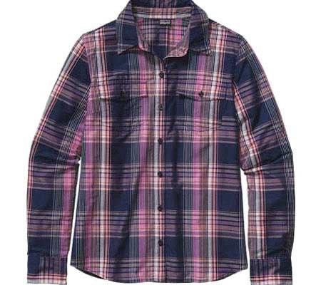 Patagonia W's L/S Overcast Shirt Ventana: Mock Purple Ventana: Mock Purple