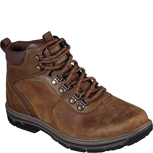 Skechers Men's Segment LACE UP Boot Hiking, Desert, 10 Medium US (Desert Hiking Boots)