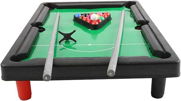 sharprepublic Kid Mini Pool Pool Billar W/Balls & Sticks Home Toys Juegos De 33x24x6.5cm: Amazon.es: Deportes y aire libre