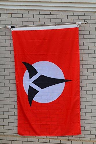 Fyon Large Klingon Empire Flag 3X5Ft ()