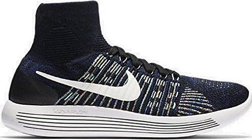 Nike 818676-013, Zapatillas de Trail Running para Hombre, Negro (Black/Summit White-Blue Green Glow), 42.5 EU: Amazon.es: Zapatos y complementos