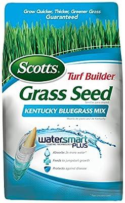 Scotts 18269 Turf Builder Kentucky Blue Mix Grass Seed (4 Pack), 7 lb
