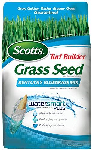 Scotts 18269 Turf Builder Kentucky Blue Mix Grass Seed (4 Pack), 7 lb -