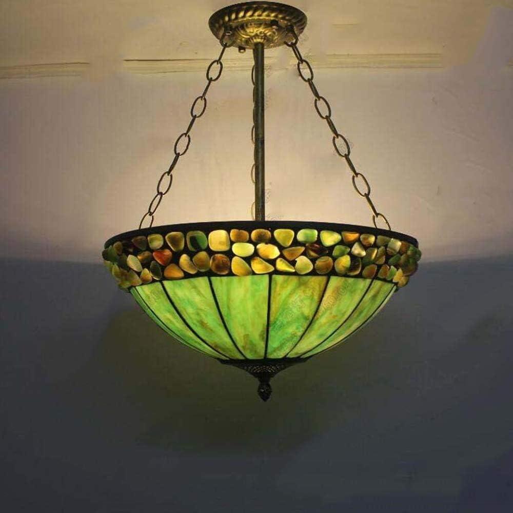 SCRT Luces Pendientes Piedra de la ágata Colgante de luz, la Llama de Color luz Colgante, Retro E27 -Chandelier de Techo Colgante de Pasillo Restaurante Bar Cafe Iluminación Decorativa