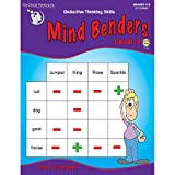 The Critical Thinking Mind Benders Book 3 School Workbook