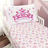 EVERYDAY KIDS Toddler Fitted Sheet and Pillowcase