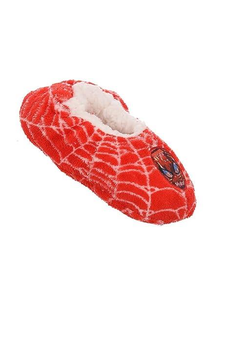 Spiderman - Mocasines para niño, Color Rojo, Talla EU 29/30 (UK