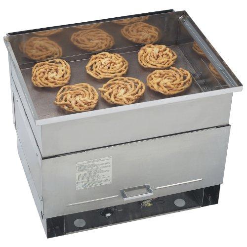 Gold Medal Funnel Cake Fryer, LP Gas, 50 Lb. Oil & (6) 8