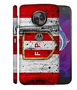 ColorKing Football Peru 11 Multicolor shell case cover for Motorola Moto X4