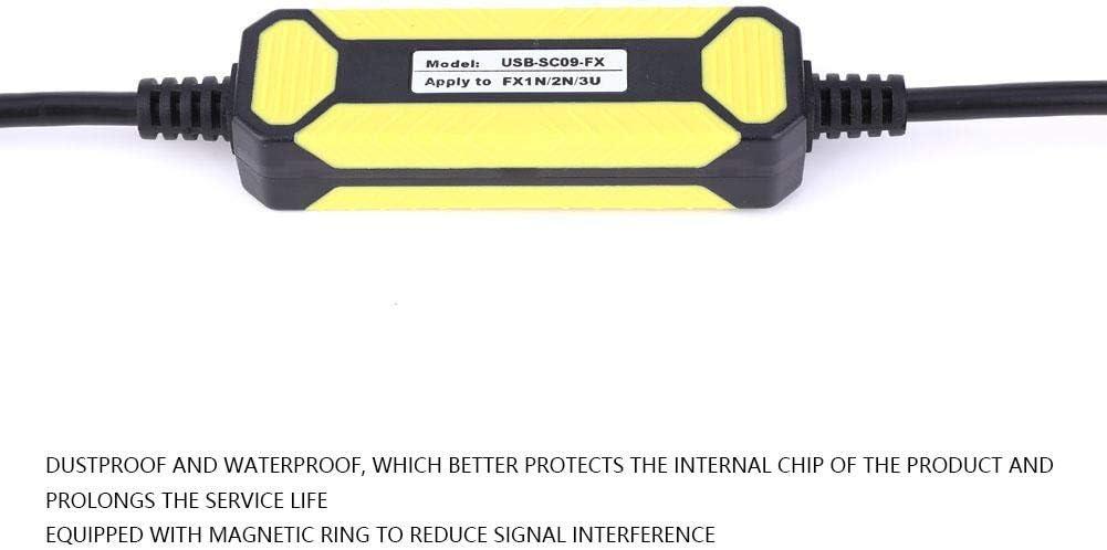 Jeanoko PLC PVC Cable USB-SC09-FX Waterproof 2.5 Meters for FX1S//1N//2N//3U FX Series