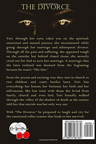 The Divorce: Tori Lynn: 9780615961330: Amazon com: Books