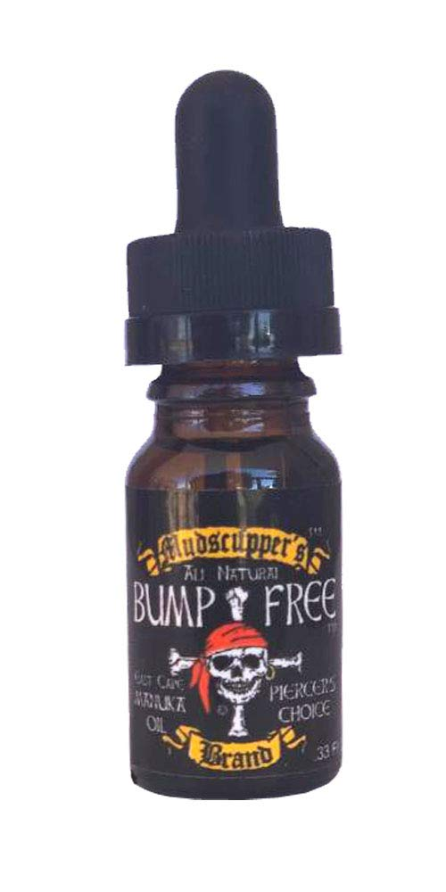 BUMP FREE - Effective Treatment for Piercing Bumps - 100% All Natural - 10 ml by Mudscupper's