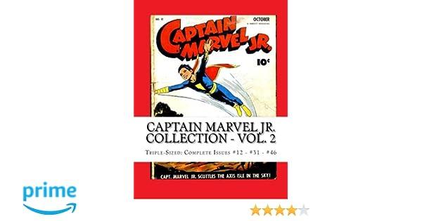 Captain Marvel Jr  Collection - Vol  2: Triple-Sized: Complete