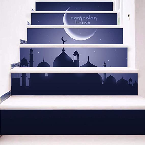 YWLINK Blessing Stairs Fashion Stairs Pegatinas De Pared Creativos ...