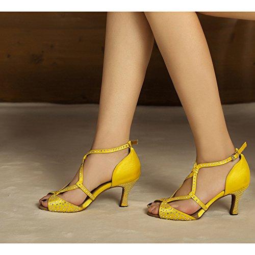 Salón Heel Miyoopark Yellow 7 5cm Mujer ZOBO4qWFw