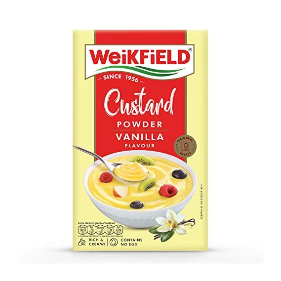 Weikfield Custard Powder, Vanilla 100g