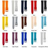 long yao Natural Silicone Rubber Watch Strap