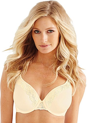 Bali One Smooth U Ultra Light Lift with Lace Underwire Bra_Light Beige_38C